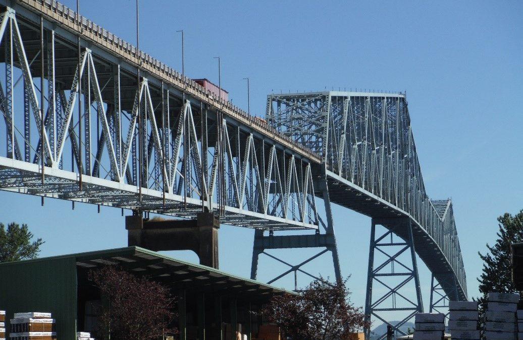 Conduit Supports on Lewis & Clark Bridge
