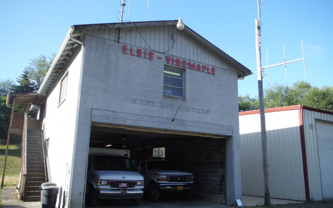 Elsie Fire Station Seismic Evaluation